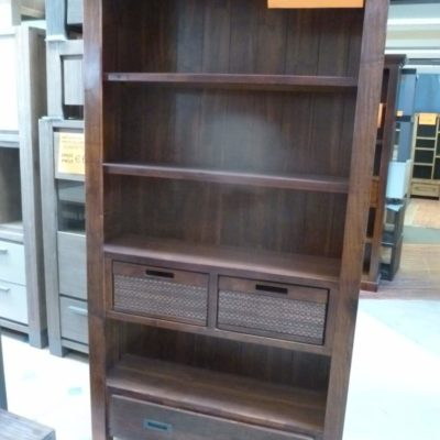Moderne acaciahouten boekenkast de kortingknaller b v - Moderne boekenkast ...